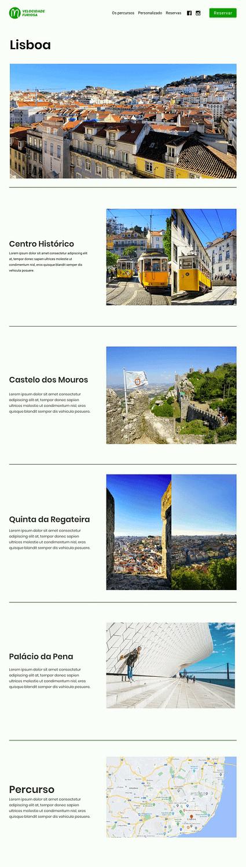 Percurso Lisboa - Site Modelo Velocidade Furiosa