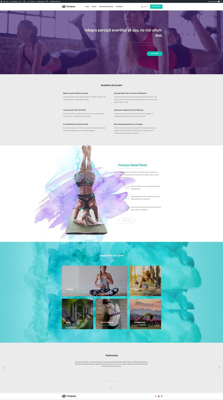 Yoga - Site Modelo - OMeuSite-PT